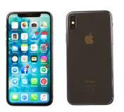 新的iPhone x 库存照片