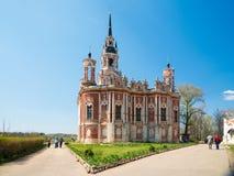 新的Nikolsky大教堂在Mozhaysk克里姆林宫,俄罗斯 免版税库存图片