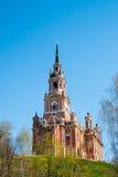 新的Nikolsky大教堂在Mozhaysk克里姆林宫,俄罗斯 库存图片