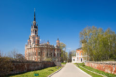 新的Nikolsky大教堂, Mozhaysk,俄罗斯 库存照片