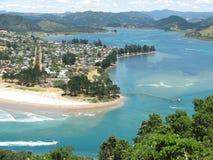 新的pauanui西兰 库存图片