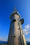 新的Pyramidenkogel塔在克恩顿州,奥地利 免版税库存图片