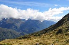 新的routeburn跟踪西兰 免版税库存图片