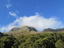 新的routeburn跟踪西兰 免版税图库摄影
