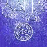新的year2014.02 免版税库存图片