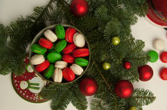 新的Year& x27; s和圣诞节 免版税库存图片