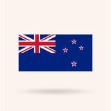 新的Zeland旗子 免版税库存图片
