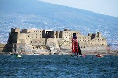 新的zeland风帆 免版税图库摄影