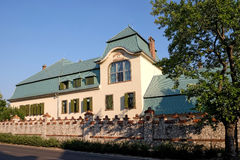 新的Zsolnay样品设计展览中心在佩奇匈牙利 库存照片