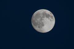 新秋天的月亮 免版税库存照片