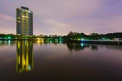 新竹夜视图  库存图片