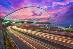 新竹,台湾桥梁 库存照片