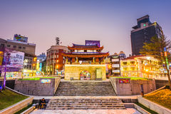 新竹,台湾都市风景 库存图片