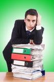 新繁忙的生意人 免版税库存图片