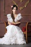 新维多利亚女王时代的夫人 库存图片
