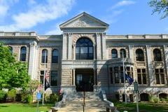 新罕布什尔州立图书馆大厦,一致,美国 免版税图库摄影