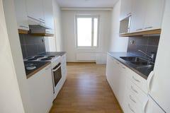 新美丽的厨房 库存照片