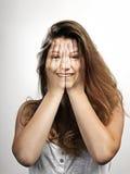 新美丽的妇女 免版税库存照片