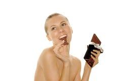 新美丽的表面的妇女 免版税库存图片