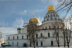 新耶路撒冷的修道院 免版税图库摄影
