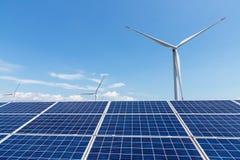 新能源的横向 库存照片