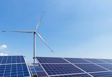 新能源的横向 免版税图库摄影