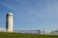 新英国的农场 库存照片