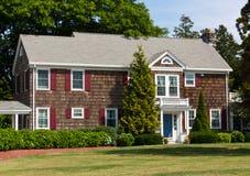 新英国的房子 库存图片