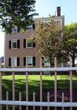 新英国的房子 免版税库存图片