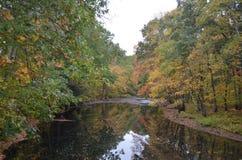 新英国的秋天 免版税图库摄影