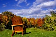 新英国的秋天 库存照片