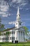 新英格兰教会 免版税库存图片