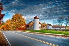 新英格兰谷仓 库存图片