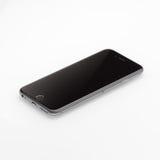 新苹果计算机iPhone 6前方 库存图片