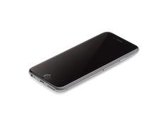 新苹果计算机iPhone 6前方 免版税库存照片