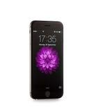 新苹果计算机iPhone 6前方 免版税图库摄影