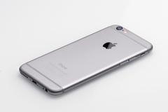 新苹果计算机iPhone 6后部 免版税库存照片