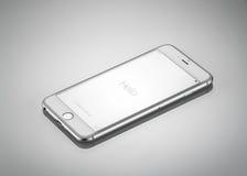 新苹果计算机iPhone 6正前方 免版税库存照片