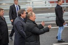 新西伯利亚,俄罗斯- 2014年10月8日:弗拉基米尔弗拉基米洛维奇Pu 库存图片