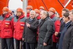 新西伯利亚,俄罗斯- 2014年10月8日:弗拉基米尔弗拉基米洛维奇Pu 免版税库存图片