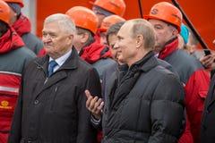 新西伯利亚,俄罗斯- 2014年10月8日:弗拉基米尔弗拉基米洛维奇Pu 库存照片