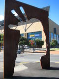 新西兰入口和艺术品博物馆  库存照片