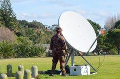 新西兰军队 库存照片