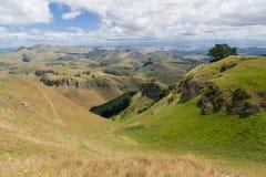 新西兰小山 库存照片