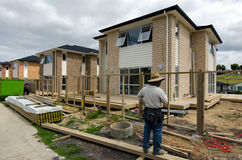 新西兰房产和不动产市场 库存图片