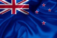 新西兰旗子例证 库存例证