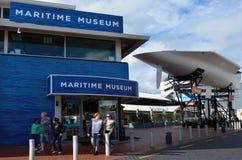 新西兰海博物馆在奥克兰 库存图片