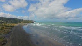 新西兰海视图 免版税库存图片