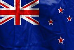 新西兰的国旗 免版税库存照片