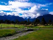 新西兰的美好的风景 免版税库存照片